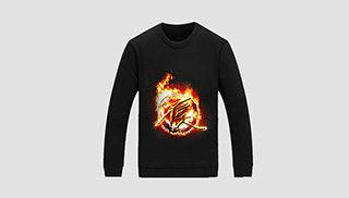 火焰logo卫衣